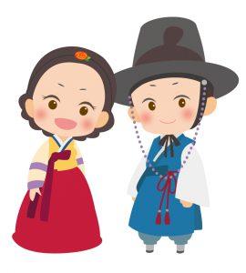 韓国人夫婦